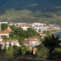 Ohrid kalesinden ŞŸehir manzarası