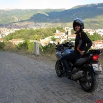 Ohrid kalesinden manzara