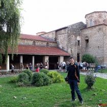 Ohrid'de bulunan 365 kiliseden biri