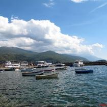 Ohrid sahil Şeridi