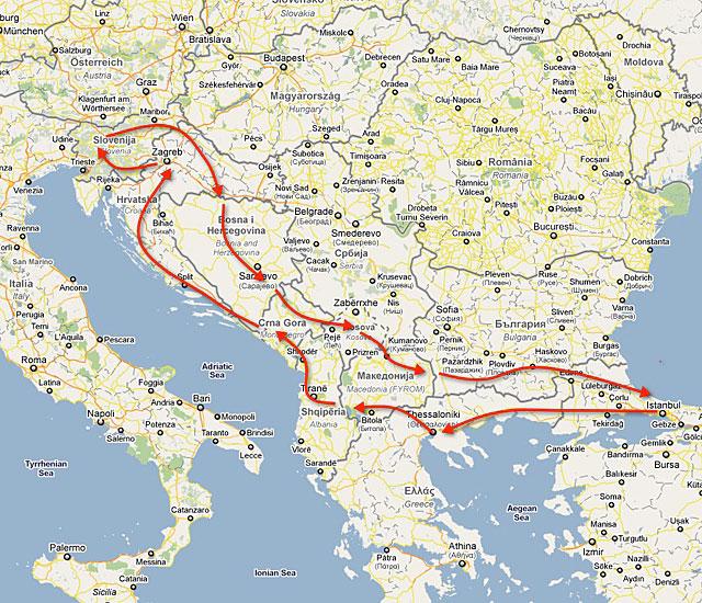 Balkan Rotası