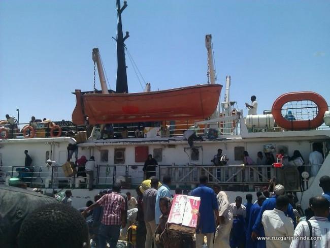 Sudan, Wadi Halfa Limanı