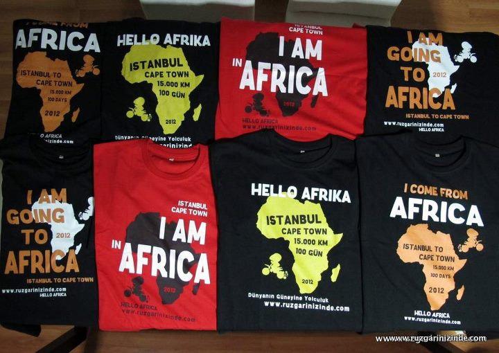 Hello Afrika Tişörtleri