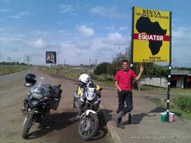 Kenya, Ekvator