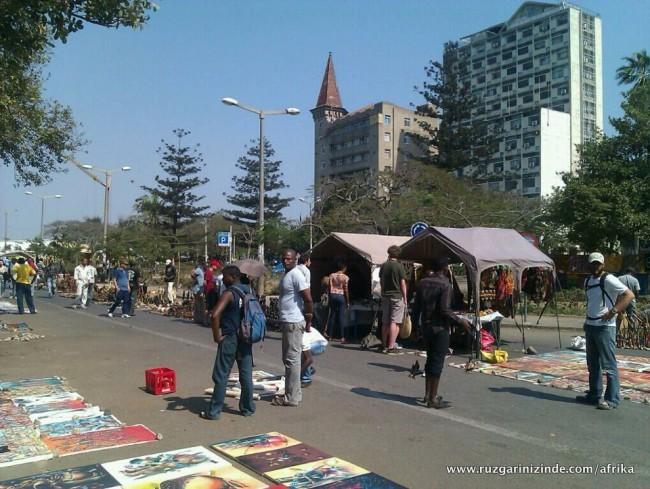 Mozambik, Maputo Sokaklar