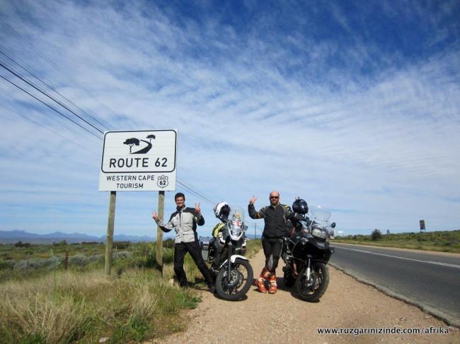 Güney Afrika, Route 62