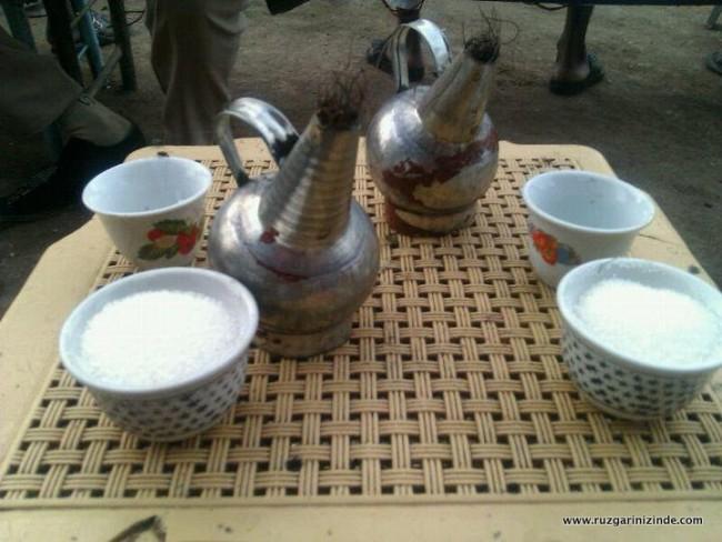 Sudan Kahve Sunumu