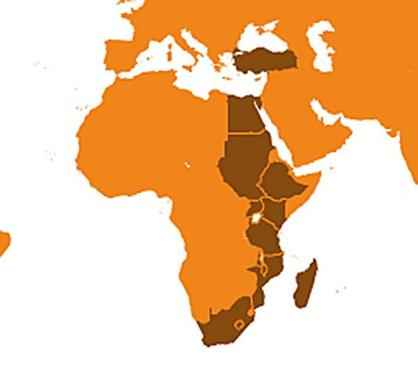 map-afrika