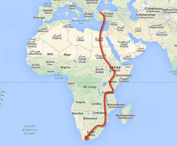 route-afrika