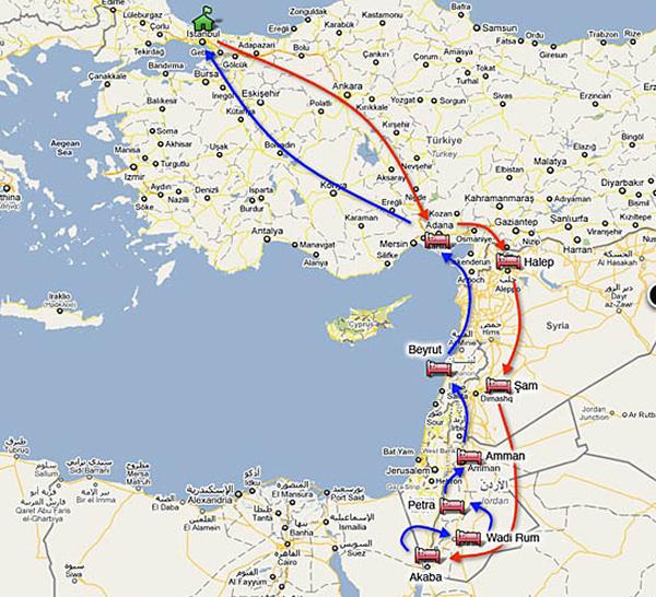 square-route-ortadogu
