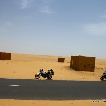Sudan-Afrika-Motosiklet